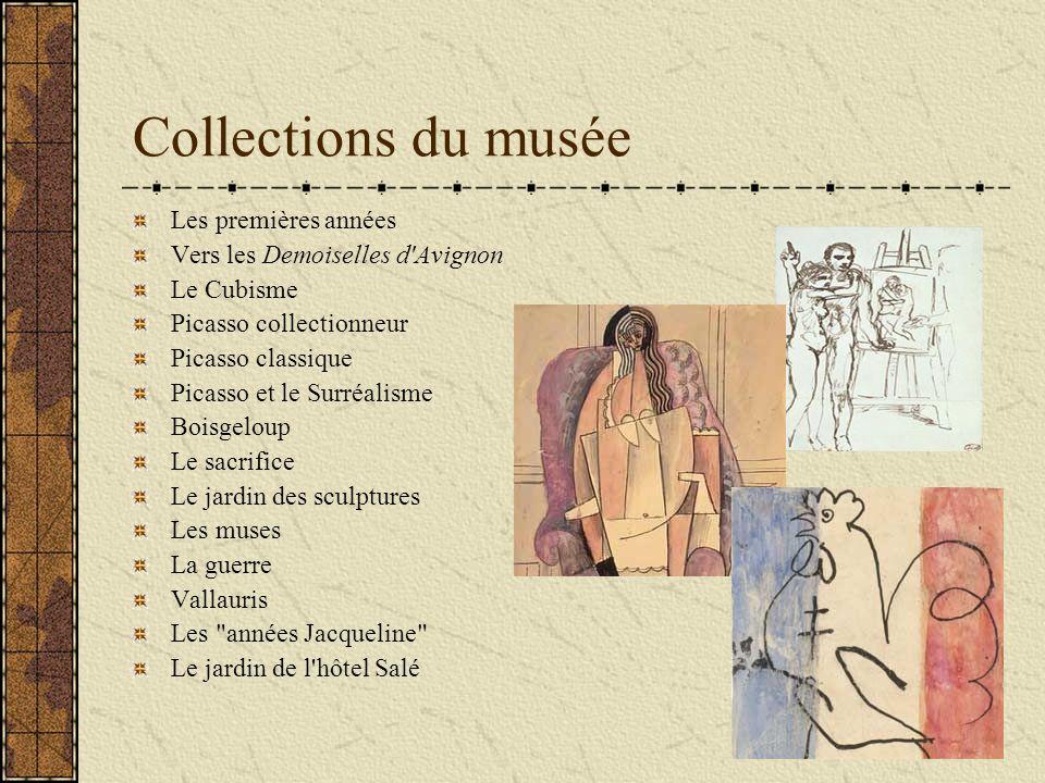 Musée National Picasso Paris L hôtel Salé qui abrite le musée Picasso est situé dans le Marais, l un des quartiers historiques de Paris.