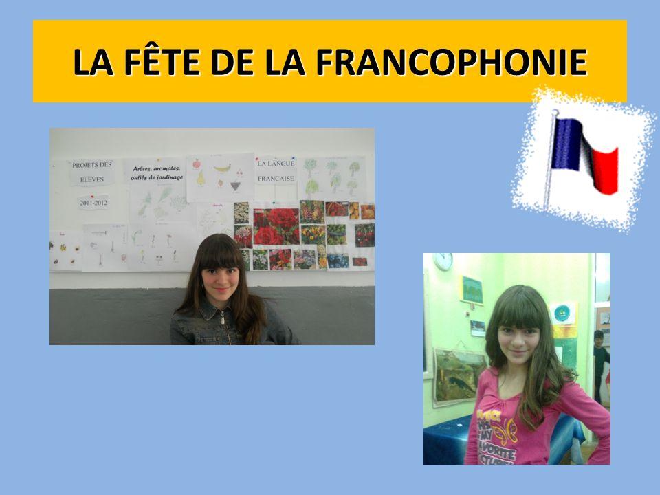 LA FÊTE DE LA FRANCOPHONIE