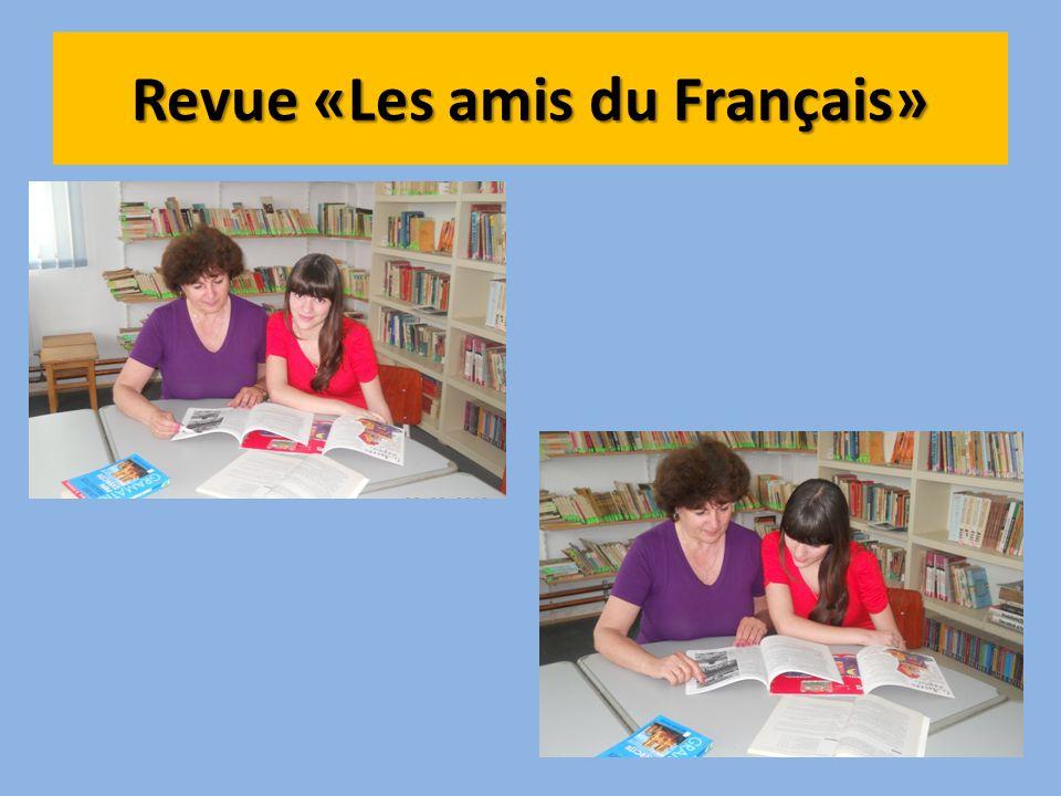 Revue «Les amis du Français»