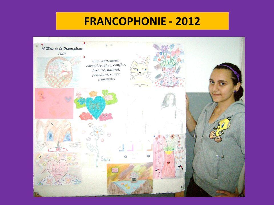 FRANCOPHONIE - 2012