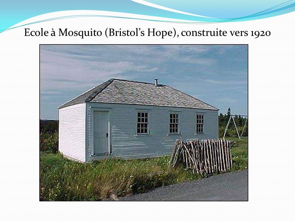 Ecole à Mosquito (Bristols Hope), construite vers 1920
