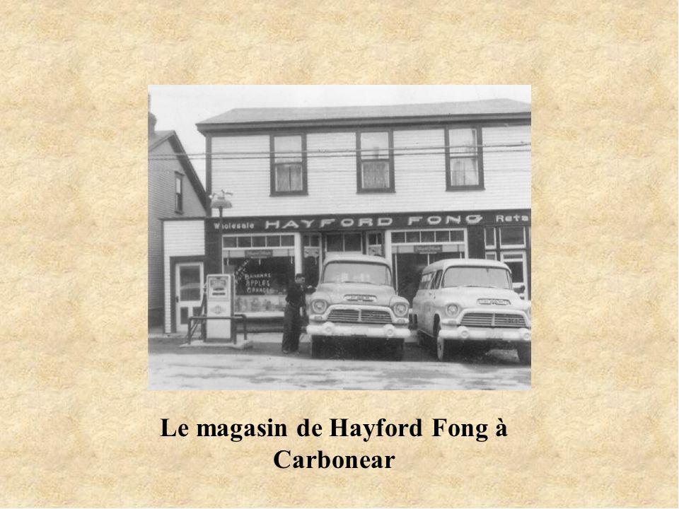 Le magasin de Hayford Fong à Carbonear