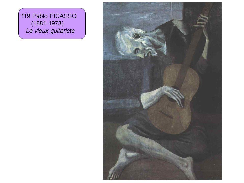 119 Pablo PICASSO (1881-1973) Le vieux guitariste