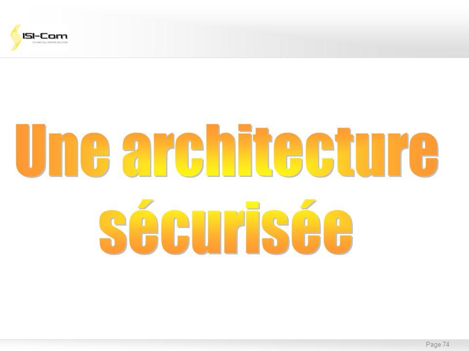 Page 75 PBX : Système propriétaire basé sur une architecture de commutation de circuits Avantages : Fiabilité, Coût, mise en réseau.