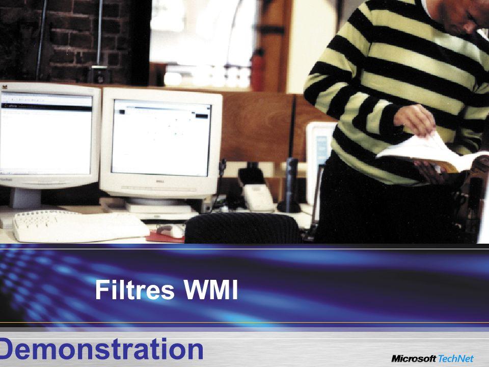 Filtres WMI Demonstration