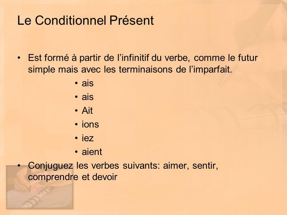 Le mode et le temps de verbe Dans le texte dopinion, on emploie surtout lindicatif présent puisque cest le temps de verbe qui sert à exprimer un fait.