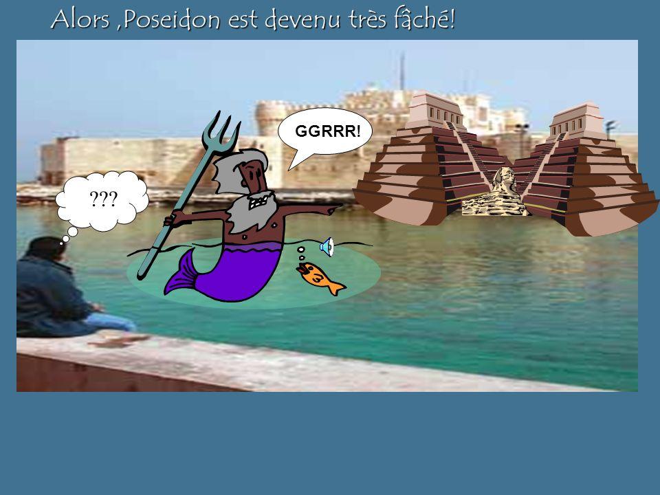 À Alexandrie il y avait deux temples dIsis… …mais seulement un temple de Poséidon.