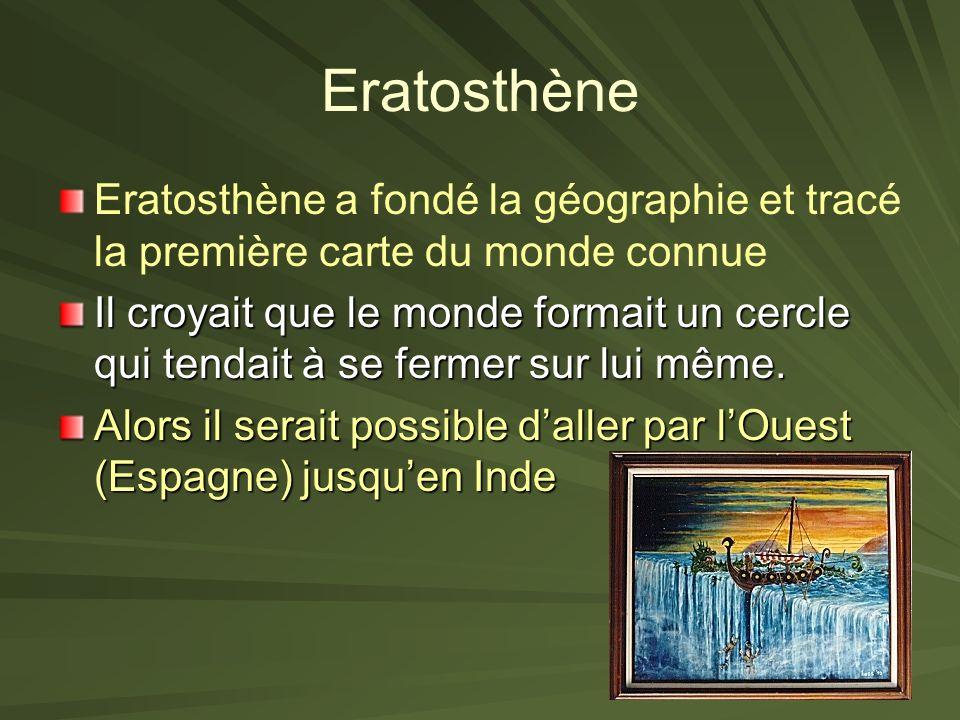 La Vie en Alexandrie Beaucoup de savants/ intellectuelles qui vivaient en Alexandrie Un homme qui sappelle Euclide a écrit un célèbre traité de géomét