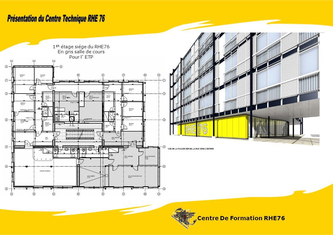 Centre De Formation RHE76 1 ER étage siége du RHE76 En gris salle de cours Pour l ETP