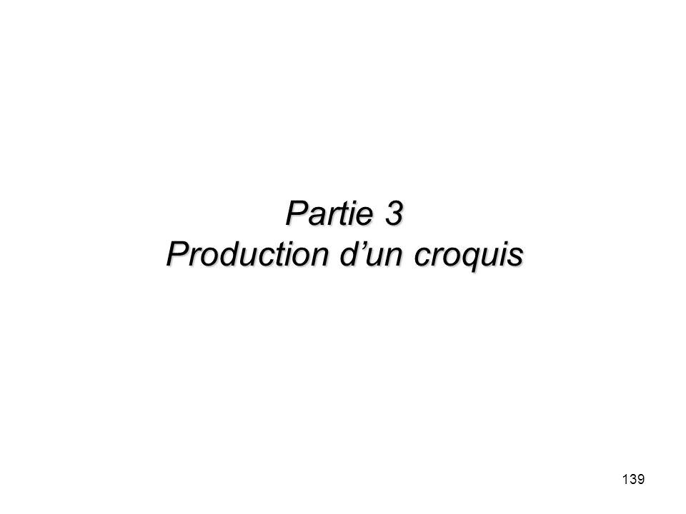 139 Partie 3 Production dun croquis