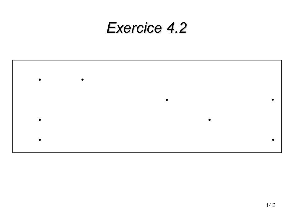 Exercice 4.2 142