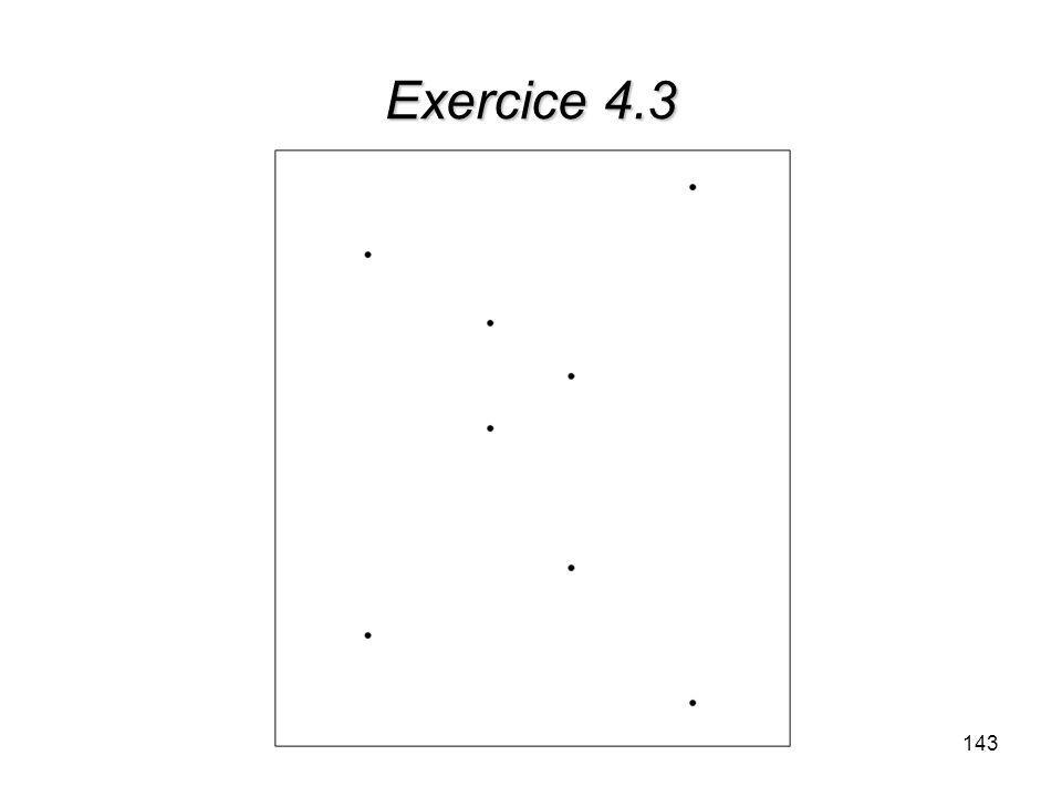 Exercice 4.3 143