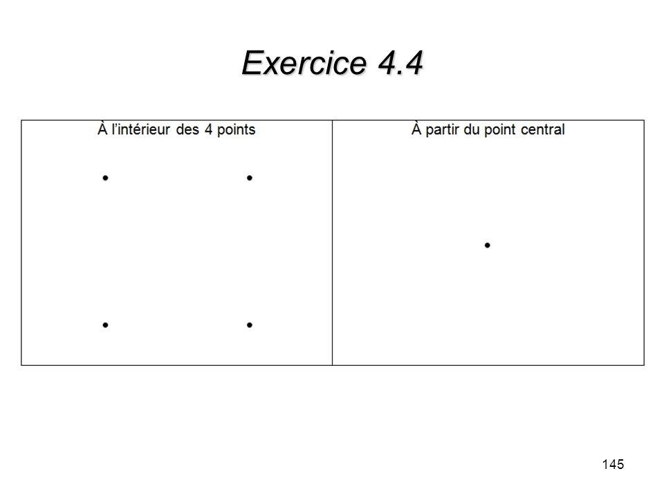 Exercice 4.4 145