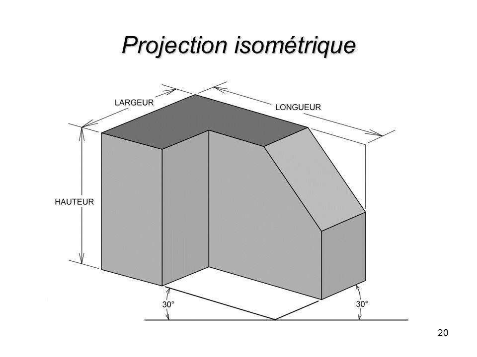 Projection isométrique 20