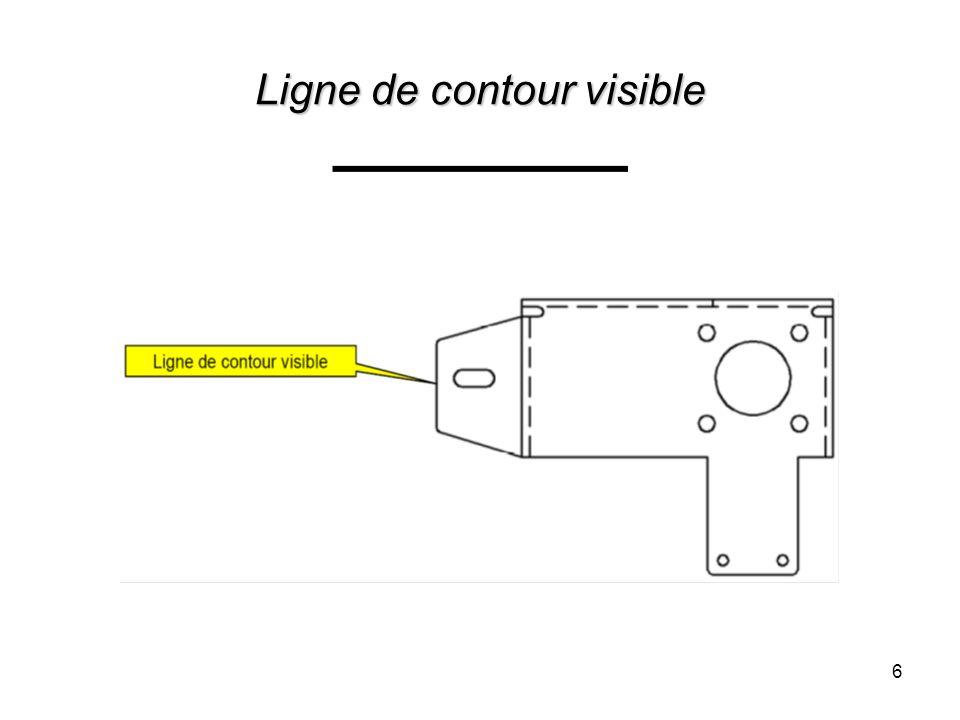 Symboles de soudage (flèche de base) Flèche pointe vers le joint.