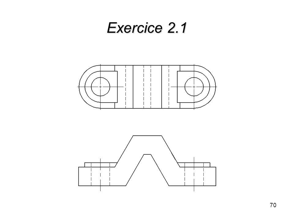 Exercice 2.1 70
