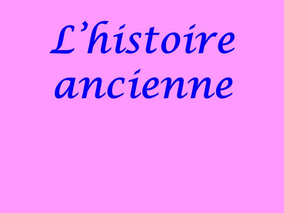 Lhistoire ancienne