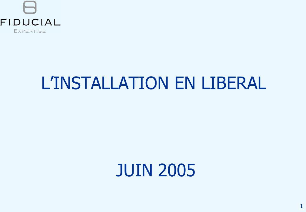 1 LINSTALLATION EN LIBERAL JUIN 2005