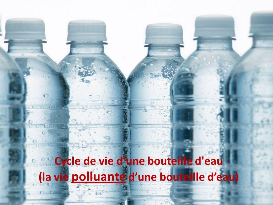 Cycle de vie d'une bouteille d'eau (la vie polluante dune bouteille deau)