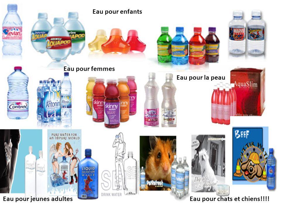 Historiquement, les boissons gazeuses étaient les grandes responsables de la production des déchets de bouteilles de plastique mais aujourd hui, l eau embouteillée est en voie de prendre le dessus.