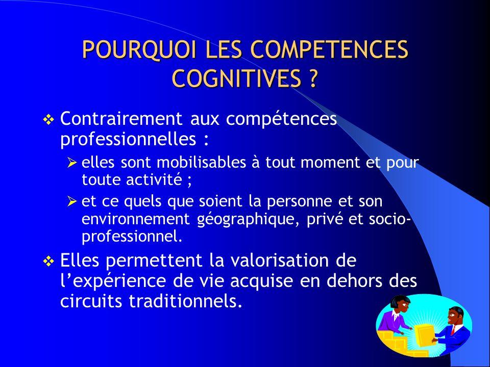 LE PCI EN QUELQUES MOTS Identifier et valider les compétences cognitives de référence (BCC). Mettre en place une offre de formation sappuyant sur les