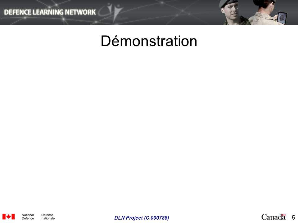 5 DLN Project (C.000788) Démonstration