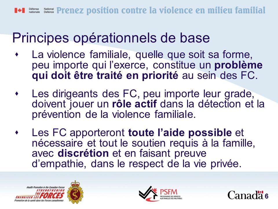 Équipe daide aux victimes de crise familiale – Rôles Prévention et sensibilisation concernant la violence familiale.