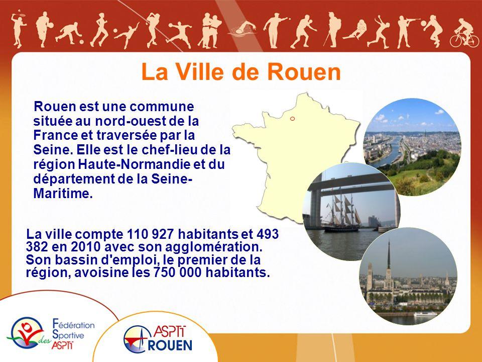 La Ville de Rouen Rouen est une commune située au nord-ouest de la France et traversée par la Seine.