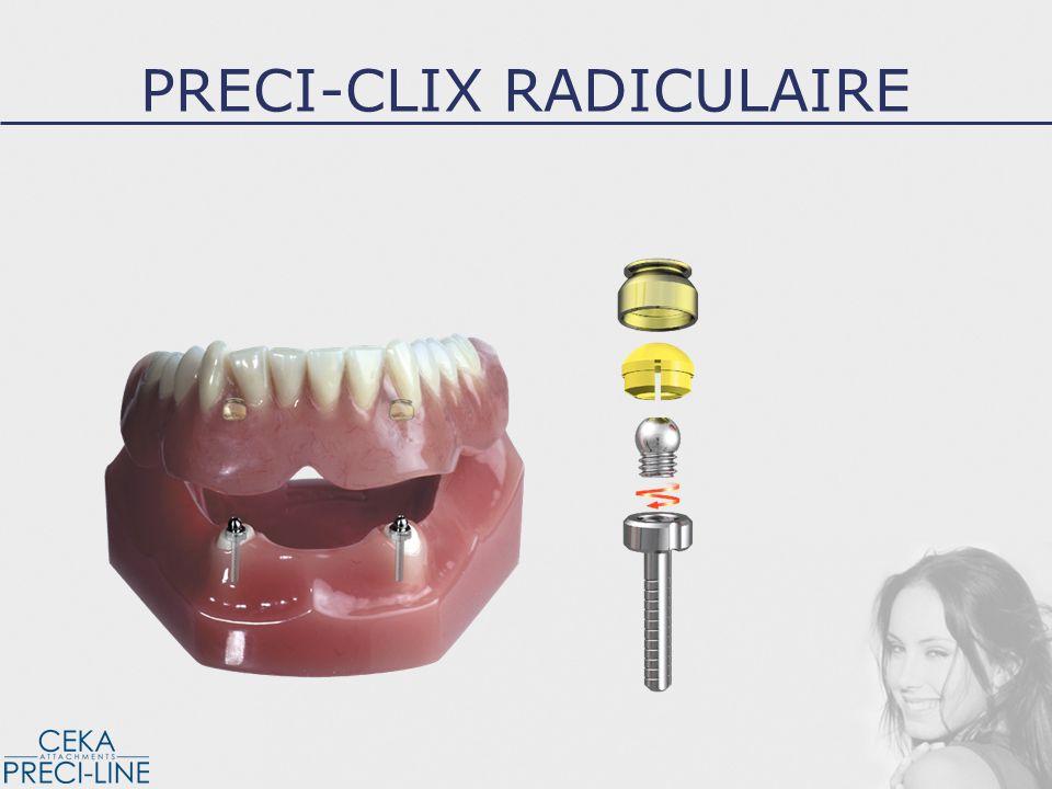 Fraise de cavité Foret de précision Fraise perforante PRECI-CLIX RADICULAIRE