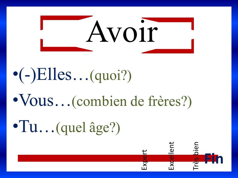 Des exemples… Jean-Pierre sait… Claire et moi savons… Tu sais… Savoir