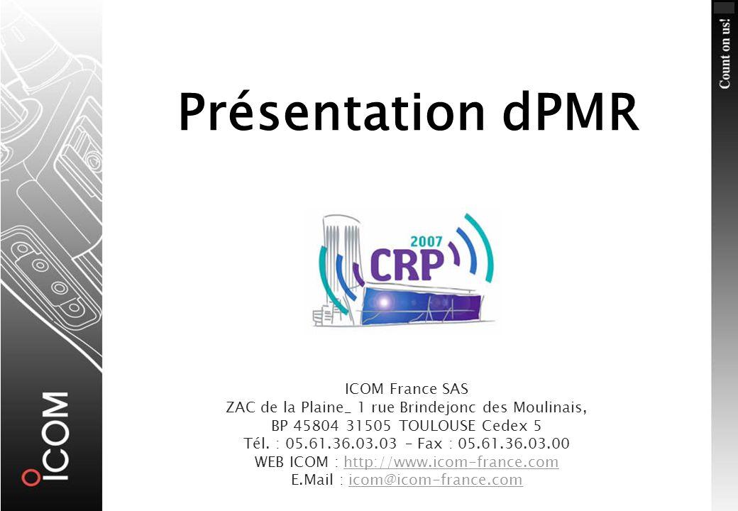 Présentation dPMR23 Janvier 2007 Comparaison avec lanalogique