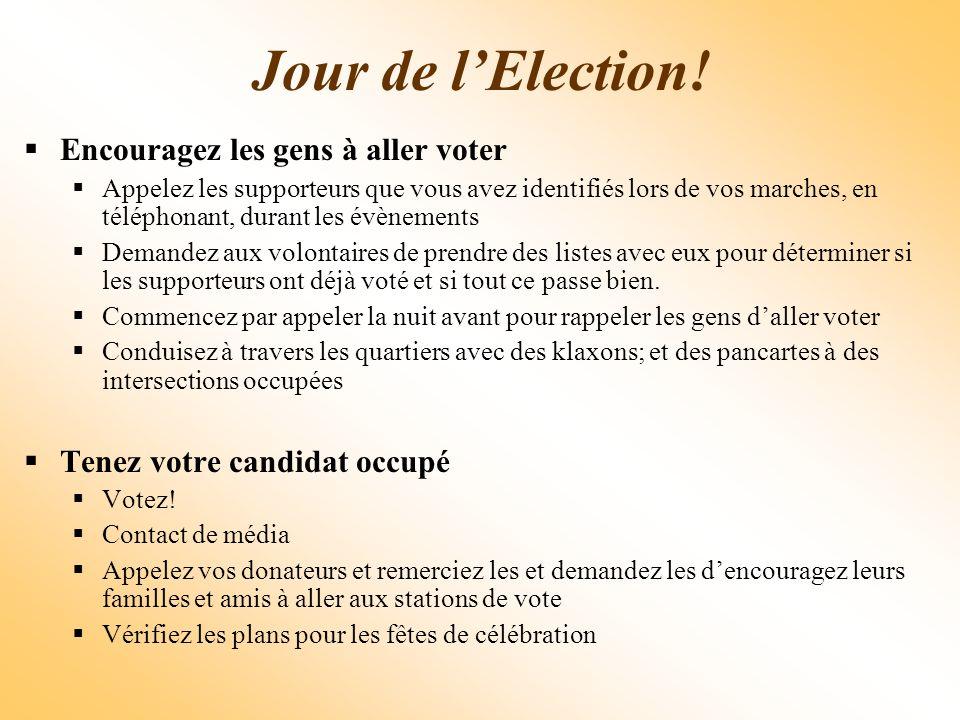 Jour de lElection.