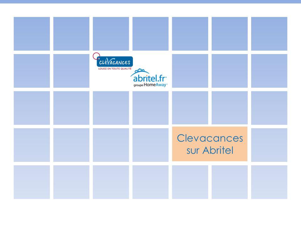 Abritel et Clévacances Bilan Actuellement 870 annonces affichent un niveau de confort Clévacances sur Abritel Au mois de mai 3000 visiteurs ont vu la page Clevacances sur Abritel 283 vues : les annonces des adhérents Clévacances ont été vues 283 fois en moyenne + 11% de contacts email : les adhérents Clévacances sur Abritel ont reçu 11% de demandes en plus par rapport aux adhérents Abritel
