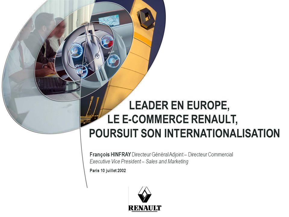 Conférence e-commerce Renault – 10 juillet 2002 12 CLASSEMENT ROYAUME-UNI Lancement site.uk