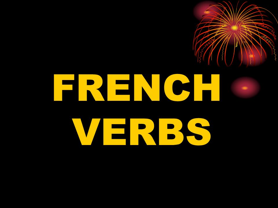 Imperative (present) There are command forms for tu, vous, and nous.