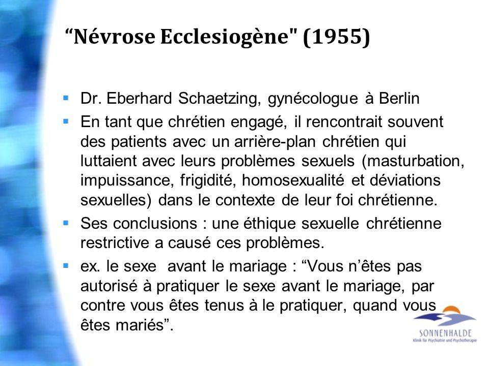 Névrose Ecclesiogène