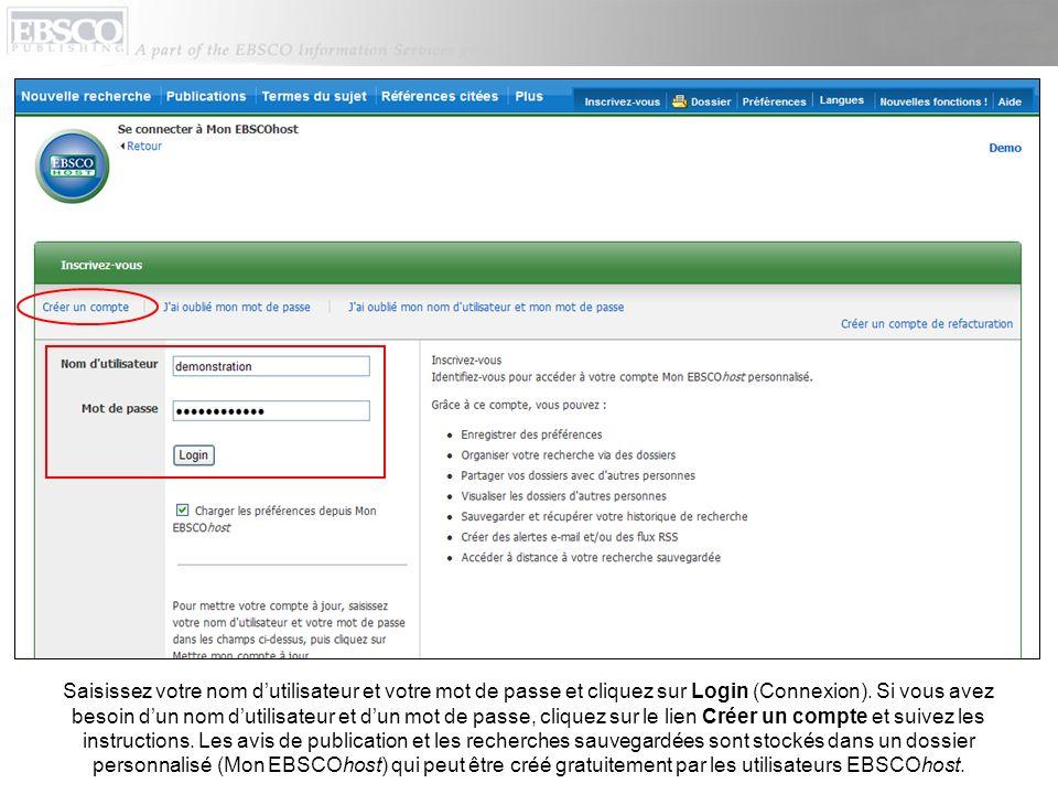 Remplissez le formulaire de configuration des alertes en sélectionnant les options de votre choix dans les listes déroulantes Fréquence et Format des résultats.