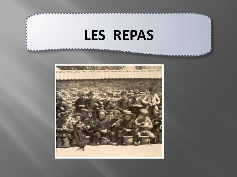 LES REPAS