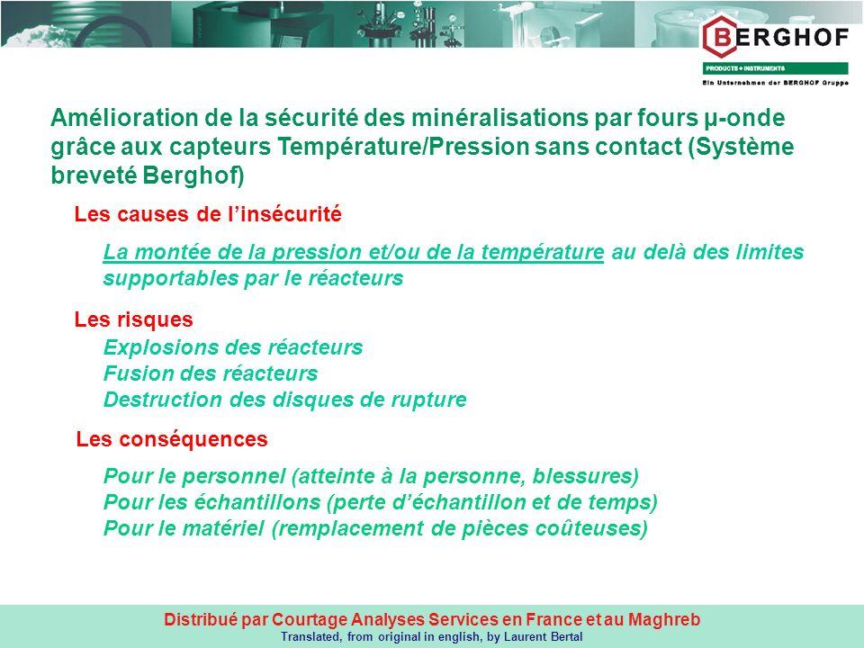 Distribué par Courtage Analyses Services en France et au Maghreb Translated, from original in english, by Laurent Bertal Les causes de linsécurité MIN
