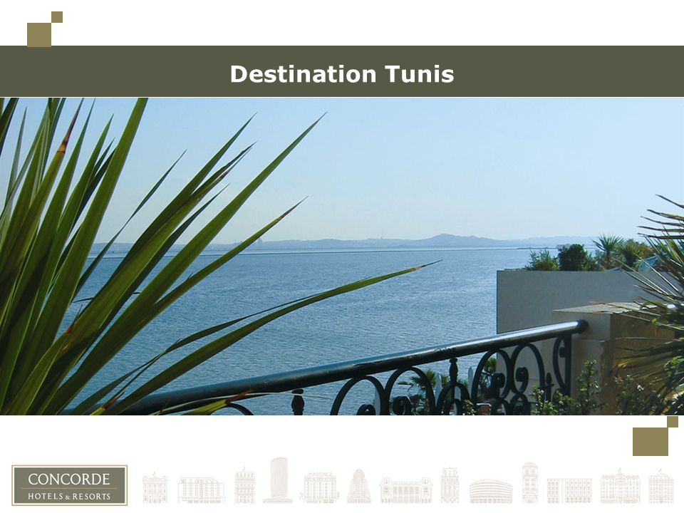 Destination Tunis