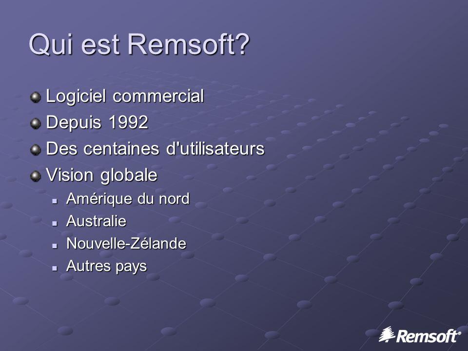 Qui est Remsoft.