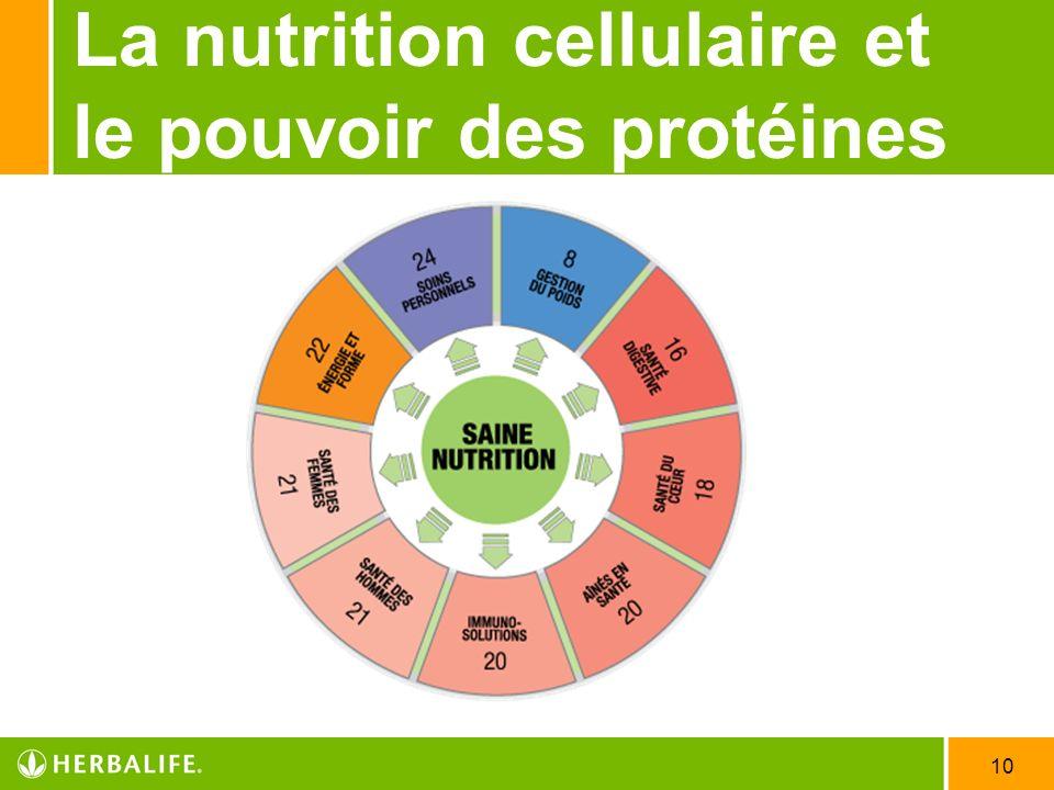 10 La nutrition cellulaire et le pouvoir des protéines
