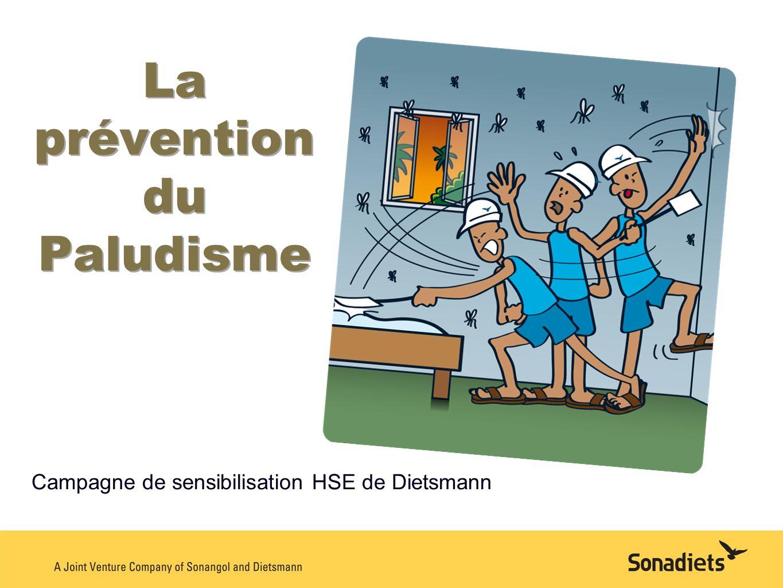La prévention du Paludisme Campagne de sensibilisation HSE de Dietsmann