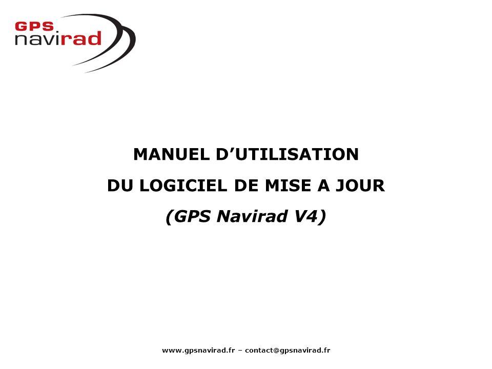 www.gpsnavirad.fr – contact@gpsnavirad.fr Cliquer sur lID 2 pour sélectionner toute la ligne.