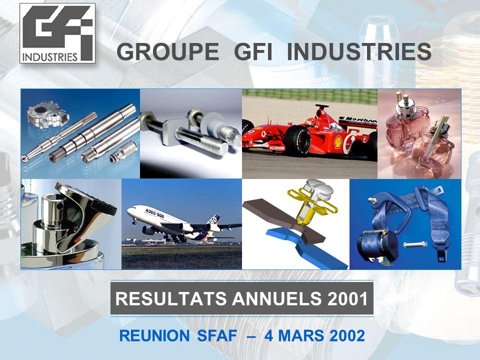 2 S ommaire RESULTATS CONSOLIDES 2001 2 2 ANNEXES 4 4 3 3 CAP 2002 - 2003 1 1 PROFIL DU GROUPE AU 4 MARS 2002