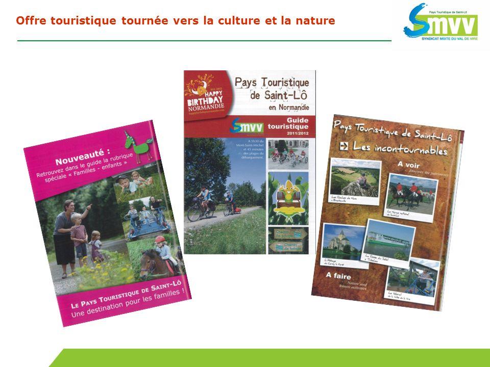 Offre touristique tournée vers la culture et la nature