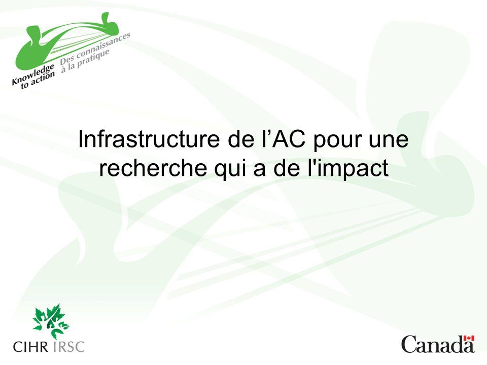 Infrastructure de lAC pour une recherche qui a de l impact