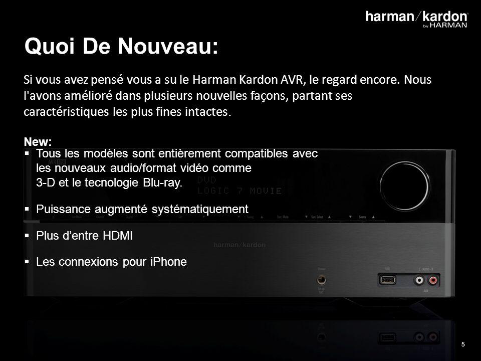 5 Quoi De Nouveau: Si vous avez pensé vous a su le Harman Kardon AVR, le regard encore.