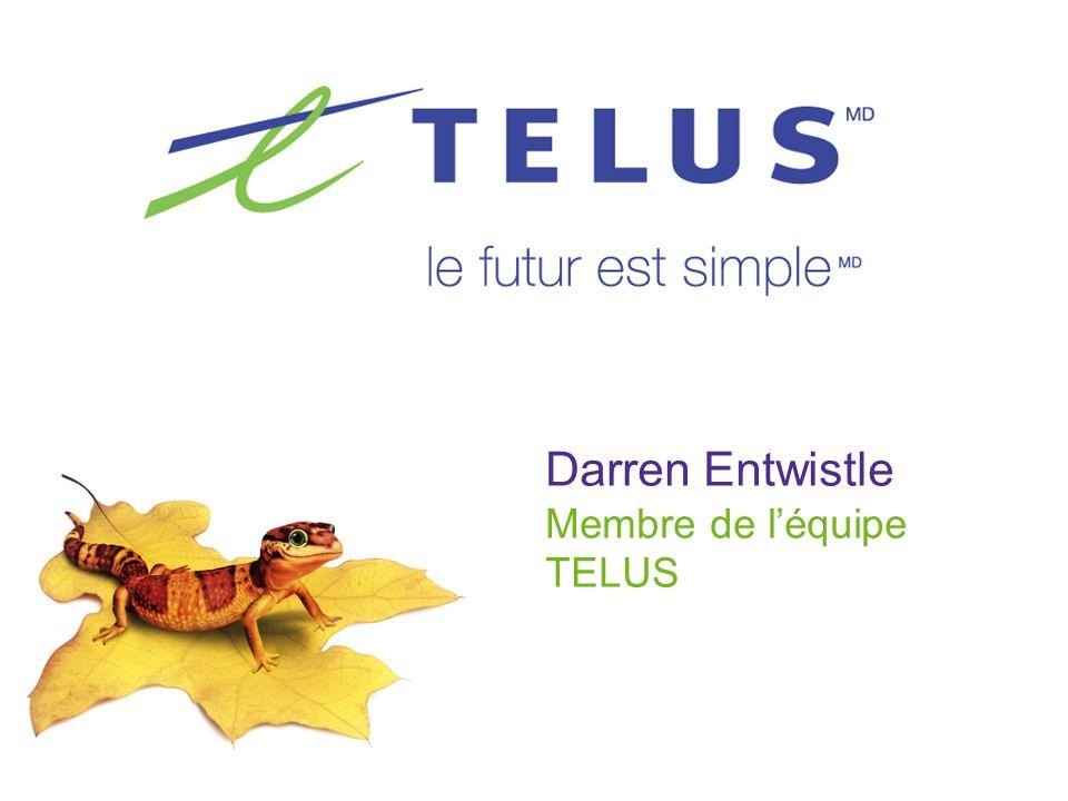 Darren Entwistle Membre de léquipe TELUS