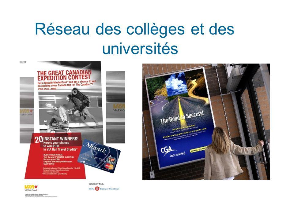 Réseau des collèges et des universités